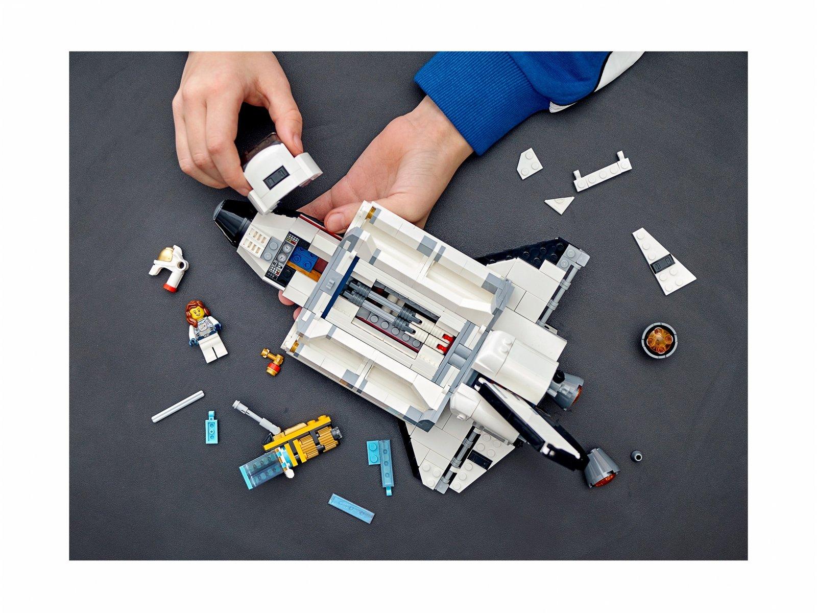 LEGO Creator 3 w 1 31117 Przygoda w promie kosmicznym
