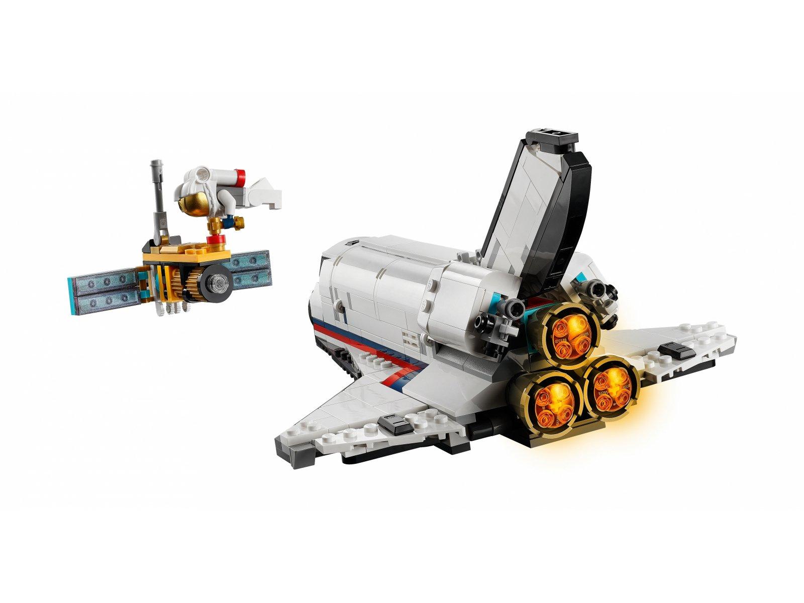 LEGO Creator 3 w 1 Przygoda w promie kosmicznym 31117