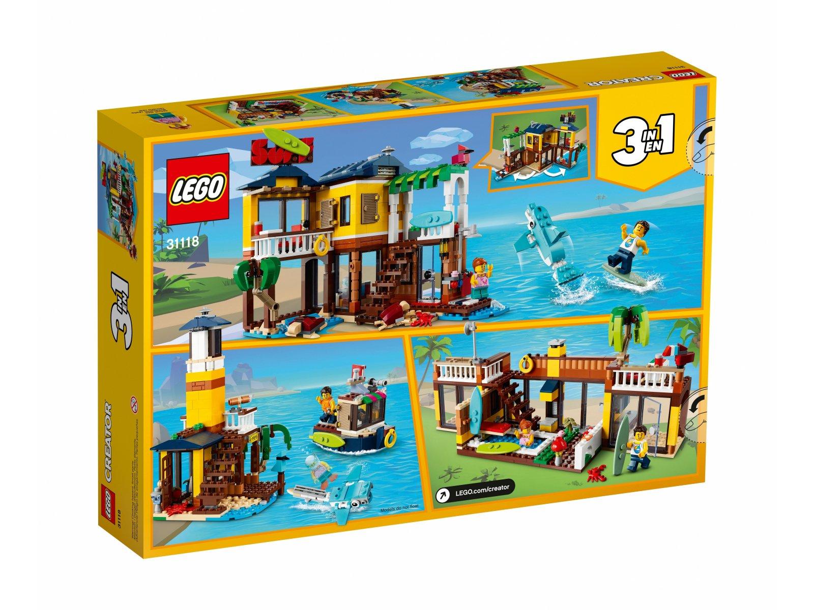 LEGO 31118 Domek surferów na plaży