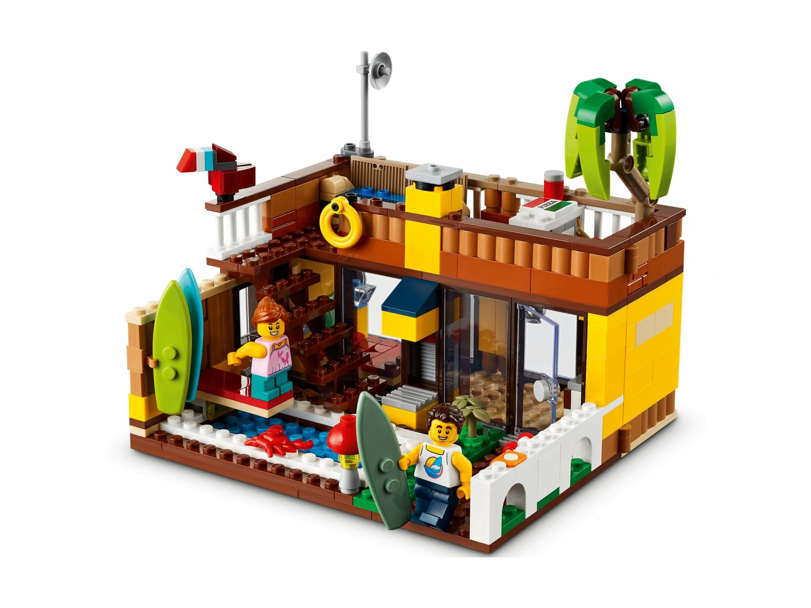 LEGO Creator 3 w 1 31118 Domek surferów na plaży