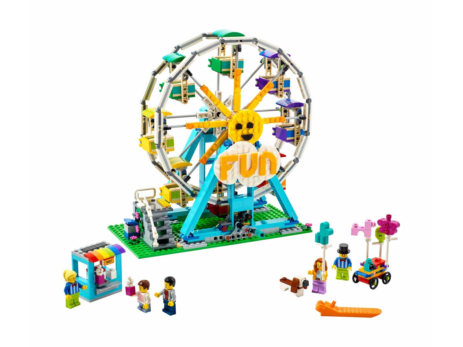 LEGO Creator 3 w 1 31119 Diabelski młyn