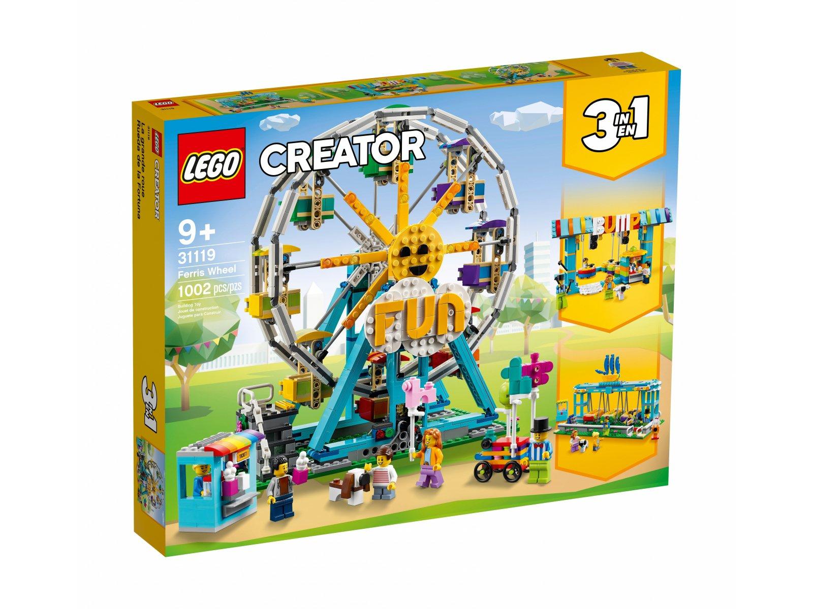 LEGO 31119 Creator 3 w 1 Diabelski młyn