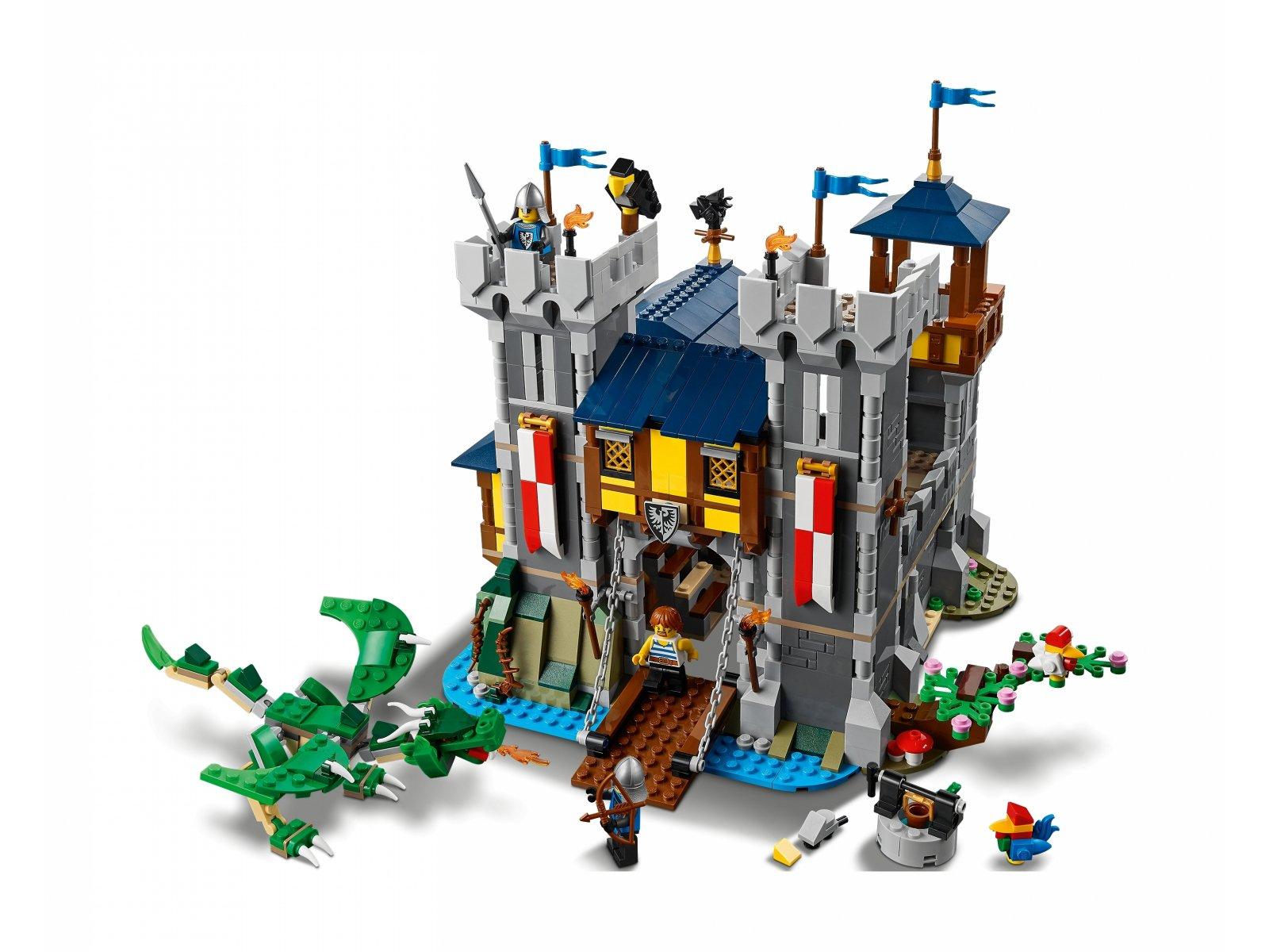 LEGO 31120 Creator 3 w 1 Średniowieczny zamek