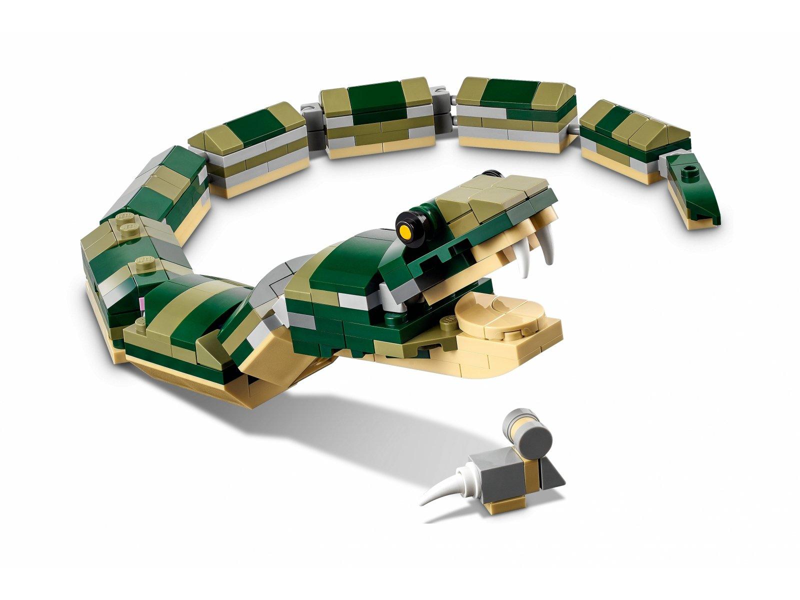 LEGO Creator 3 w 1 Krokodyl 31121