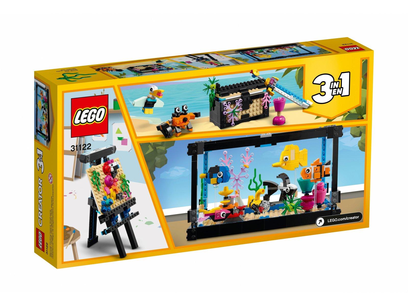 LEGO Creator 3 w 1 Akwarium 31122