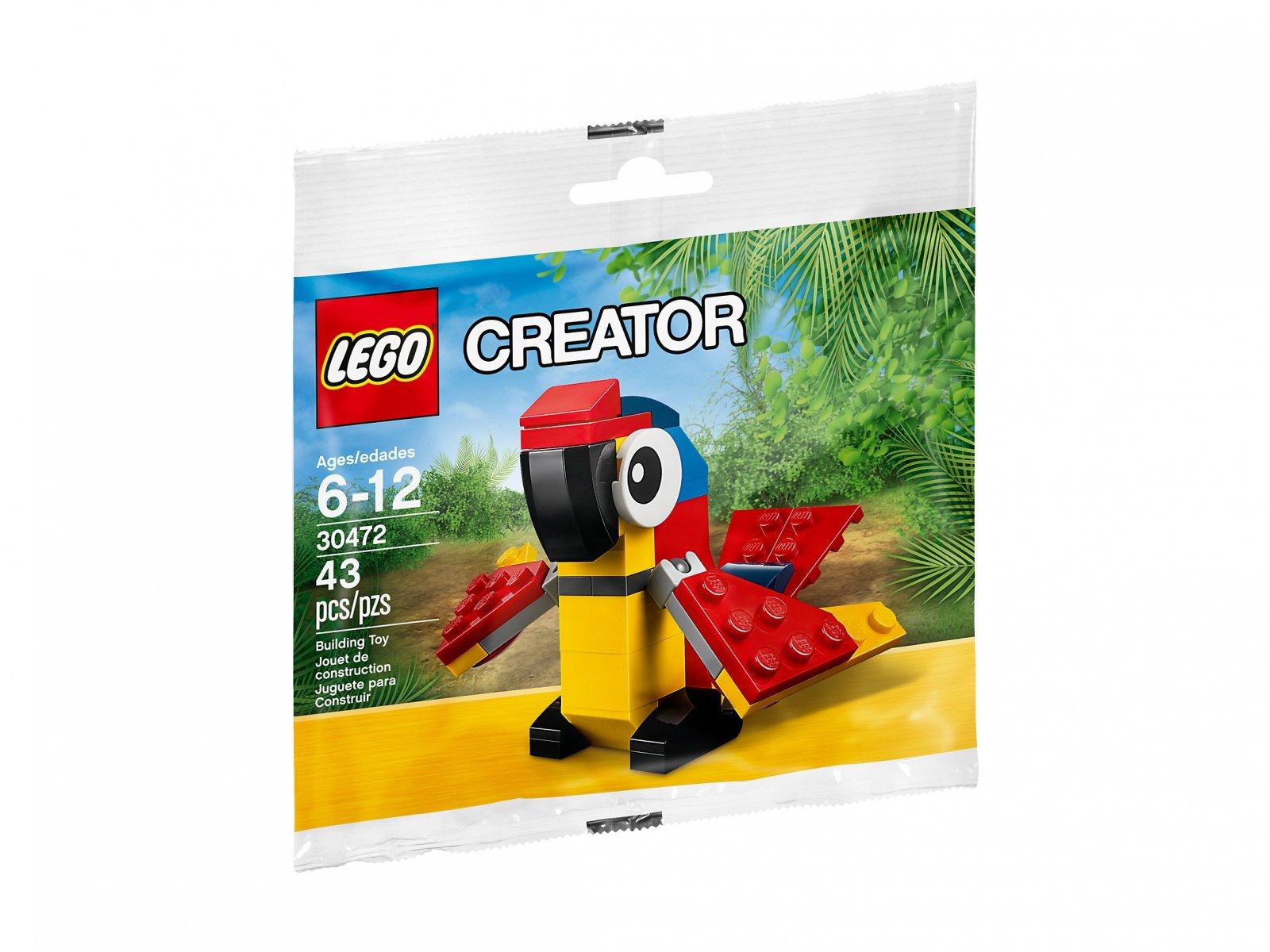Lego 30472 Creator Papuga Porównaj Ceny Zklockówpl