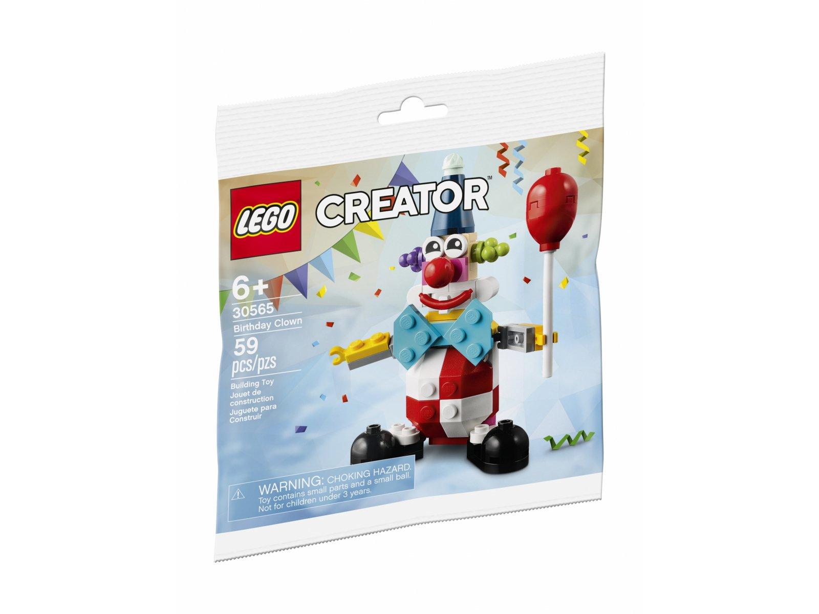 LEGO 30565 Creator Klaun z urodzinowego przyjęcia