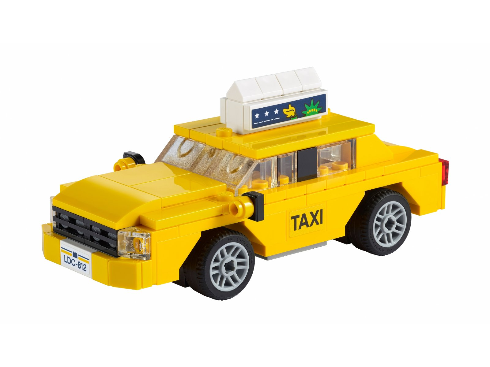 LEGO 40468 Żółta taksówka