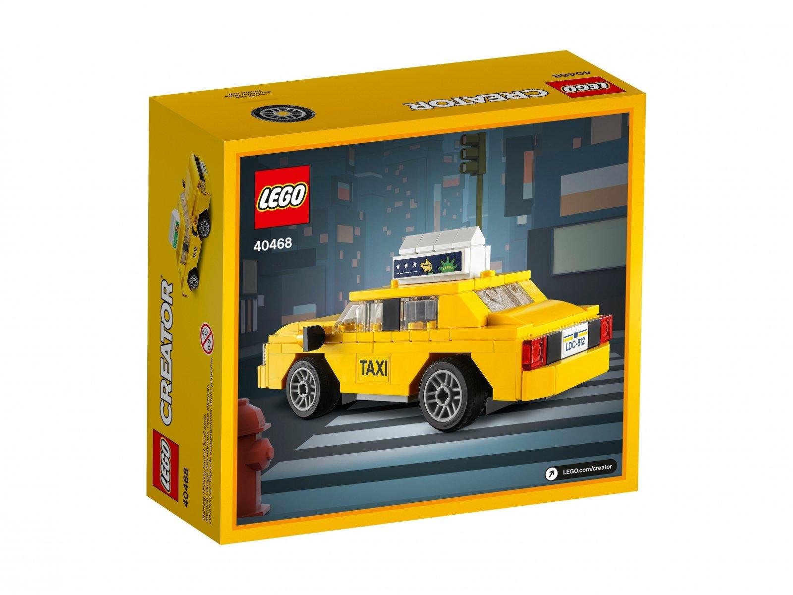 LEGO 40468 Creator Żółta taksówka