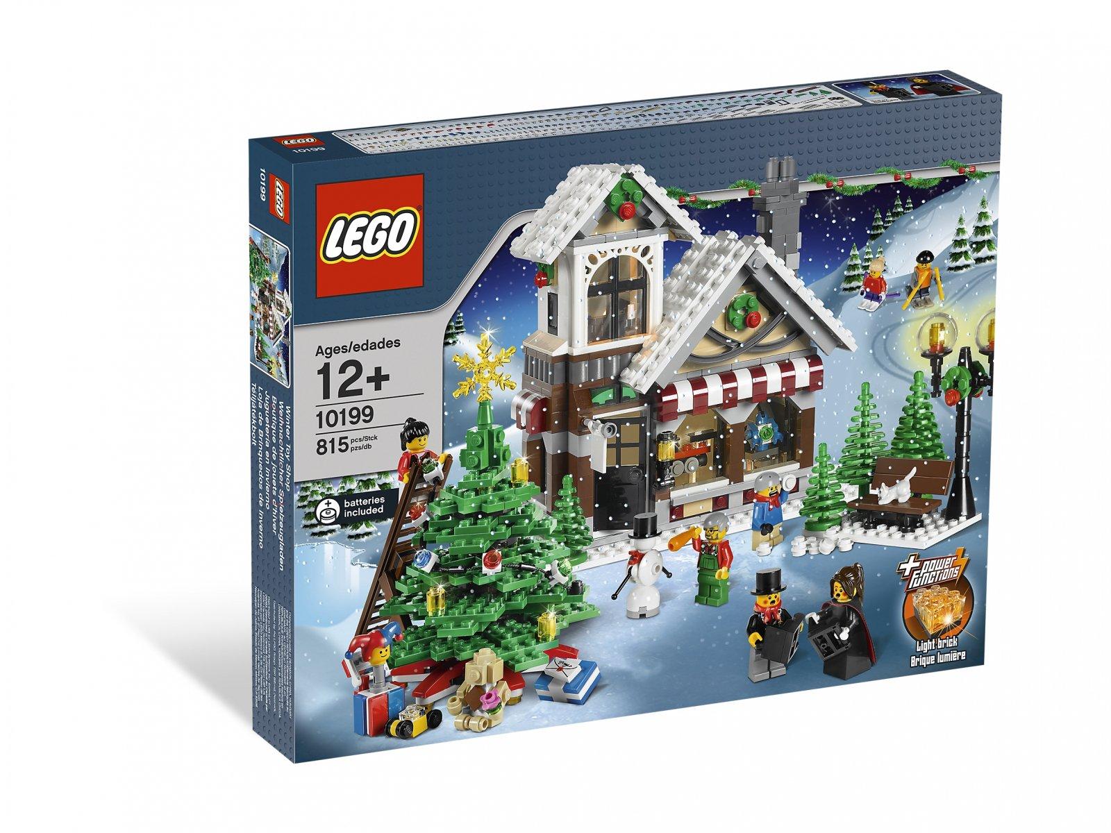 LEGO Creator Expert Zimowy sklep z zabawkami 10199