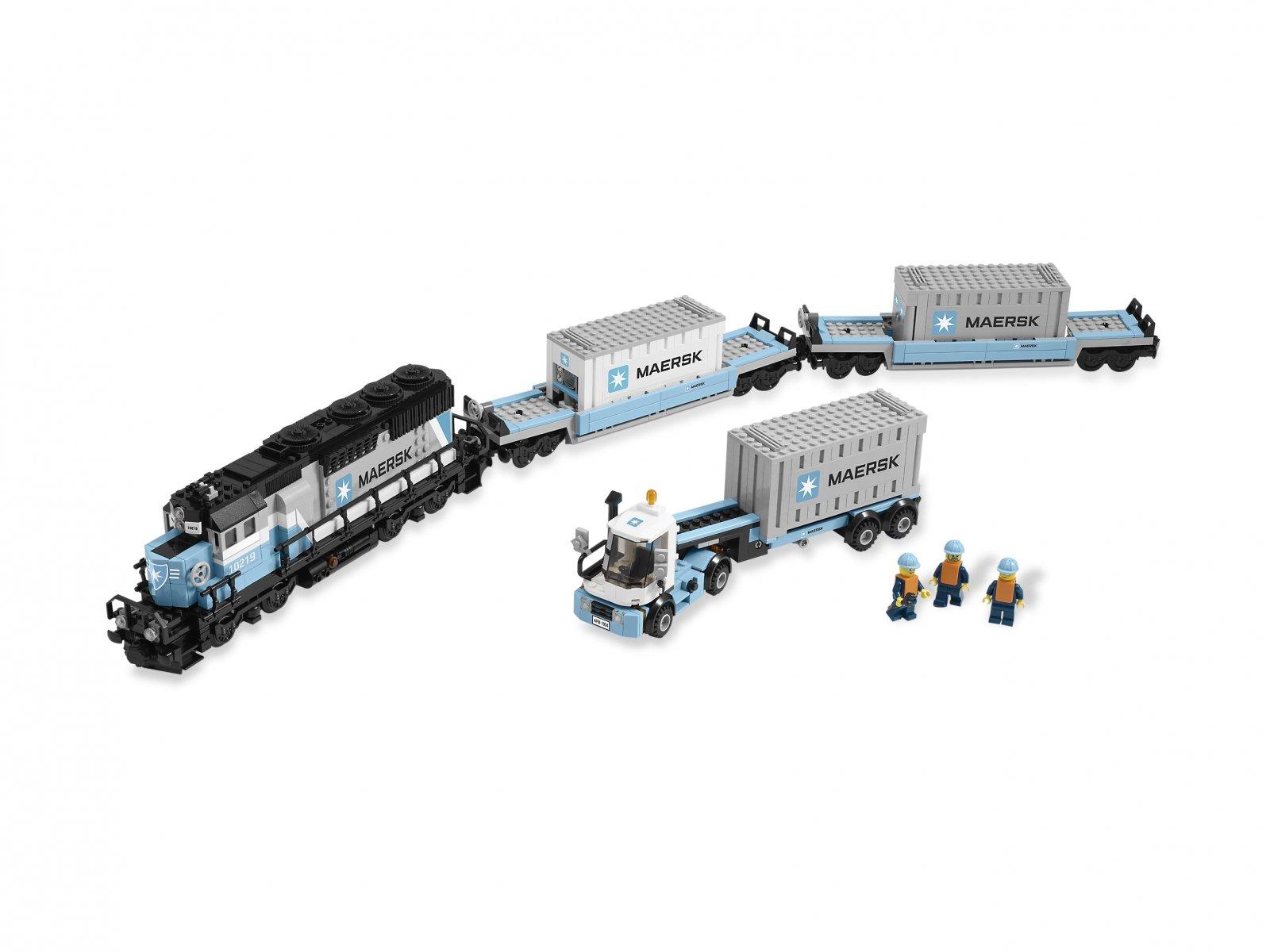 LEGO Creator Expert 10219 Pociąg Maersk
