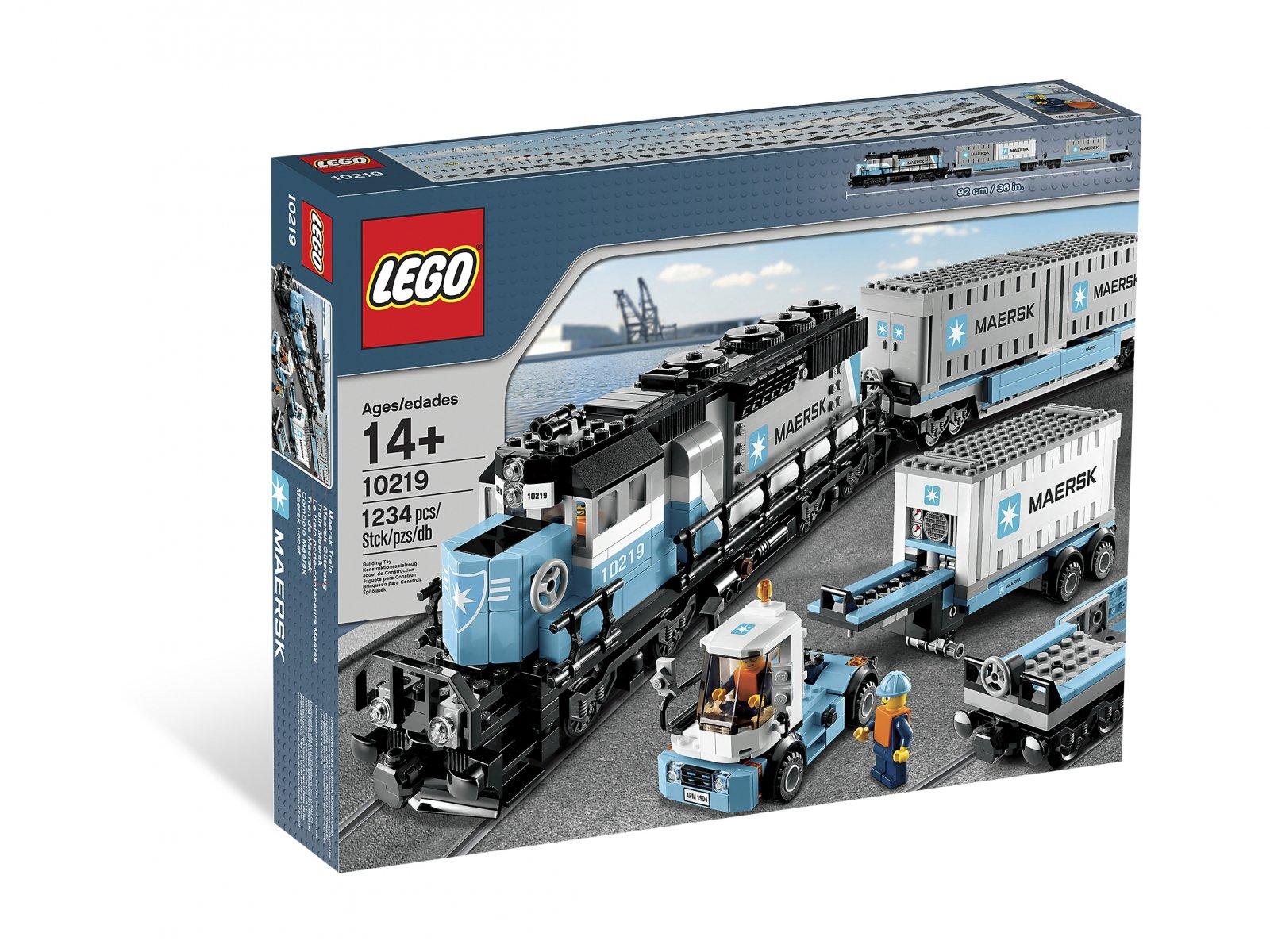 LEGO 10219 Creator Expert Pociąg Maersk