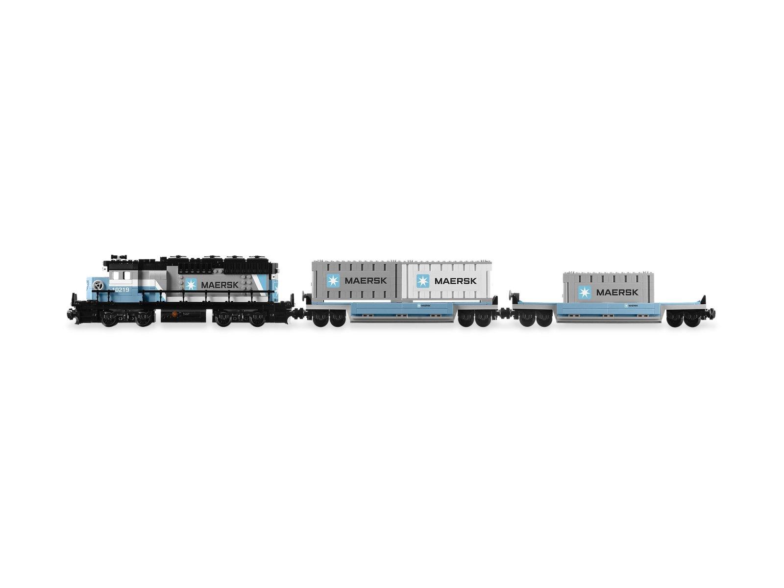 LEGO 10219 Pociąg Maersk