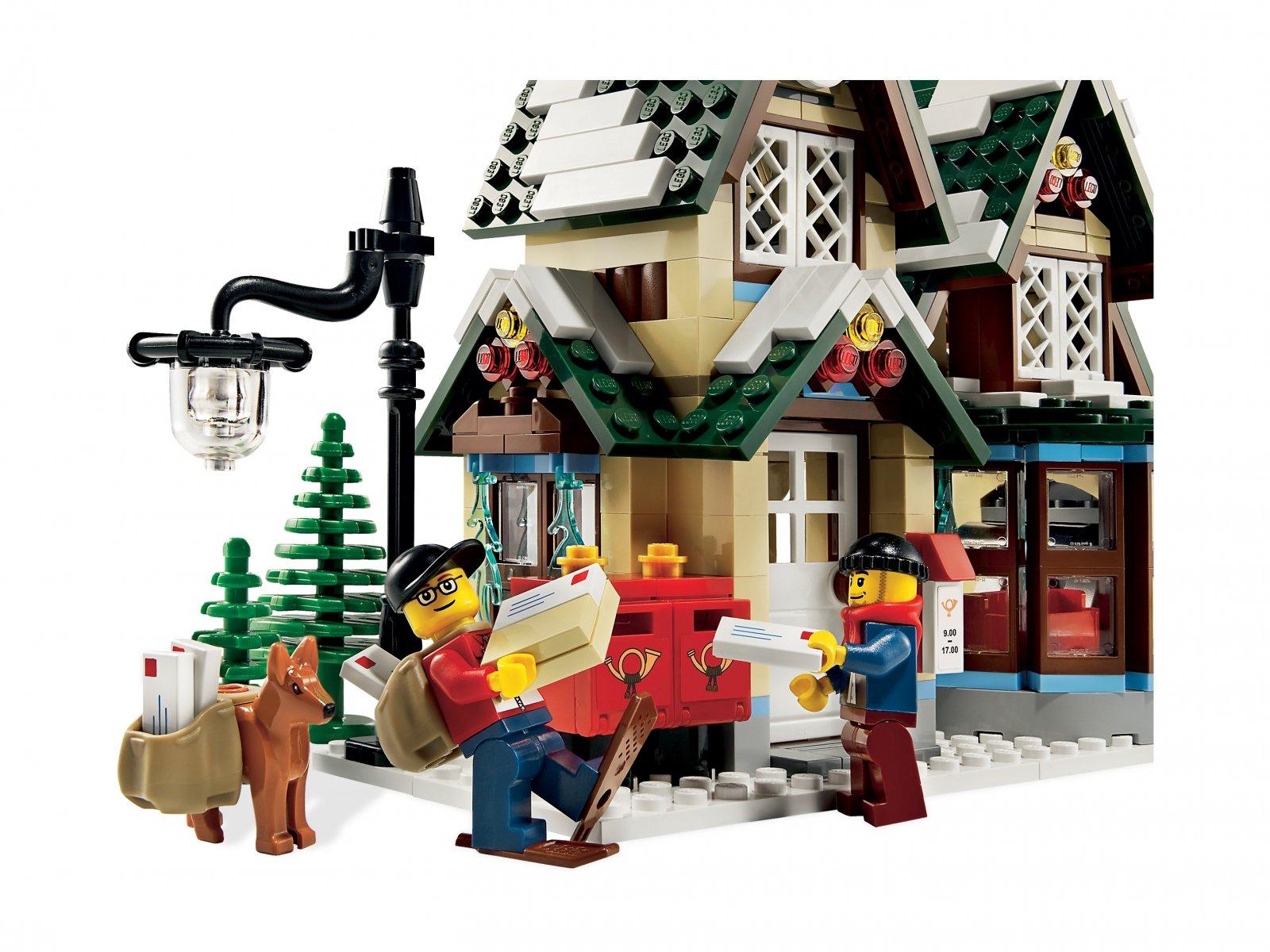 LEGO Creator Expert 10222 Poczta w zimowej wiosce