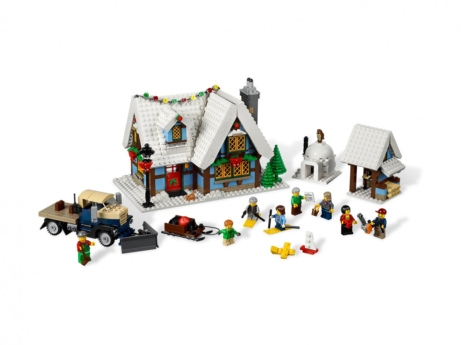LEGO 10229 Creator Expert Zimowa chata