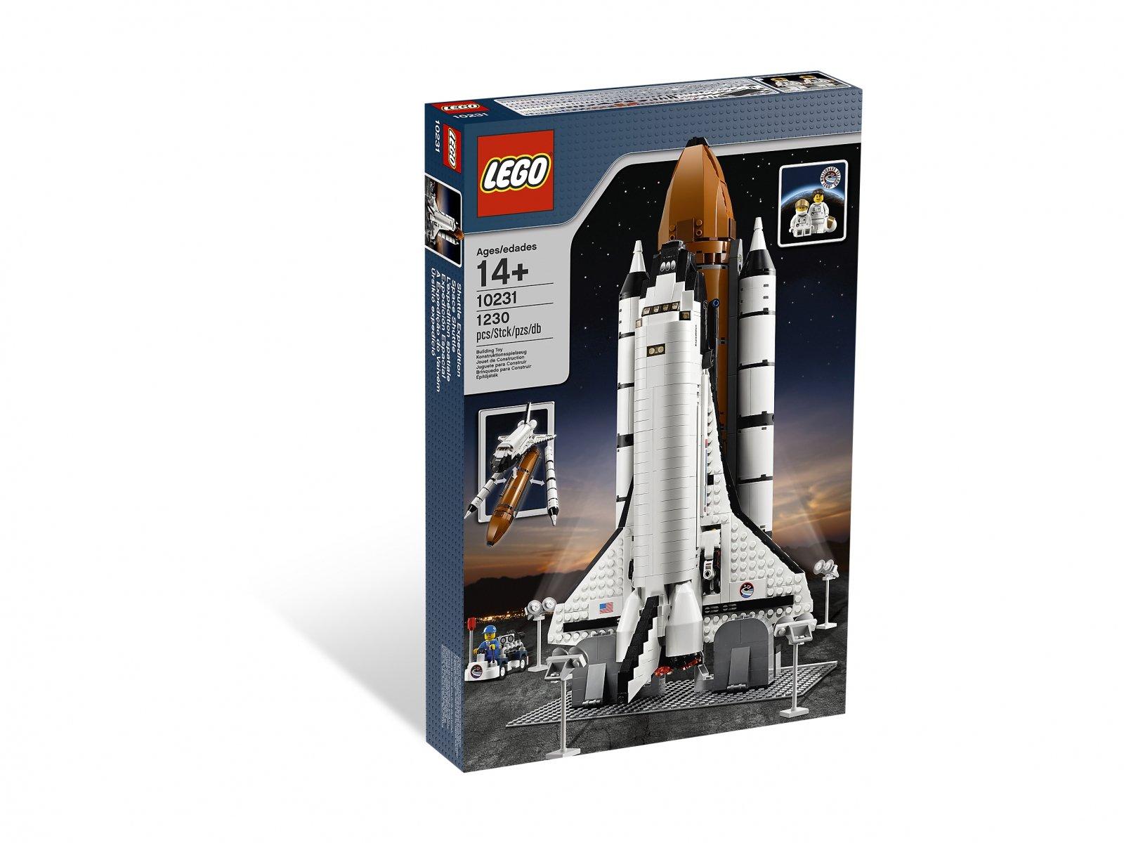 LEGO Creator Expert Ekspedycja kosmiczna 10231