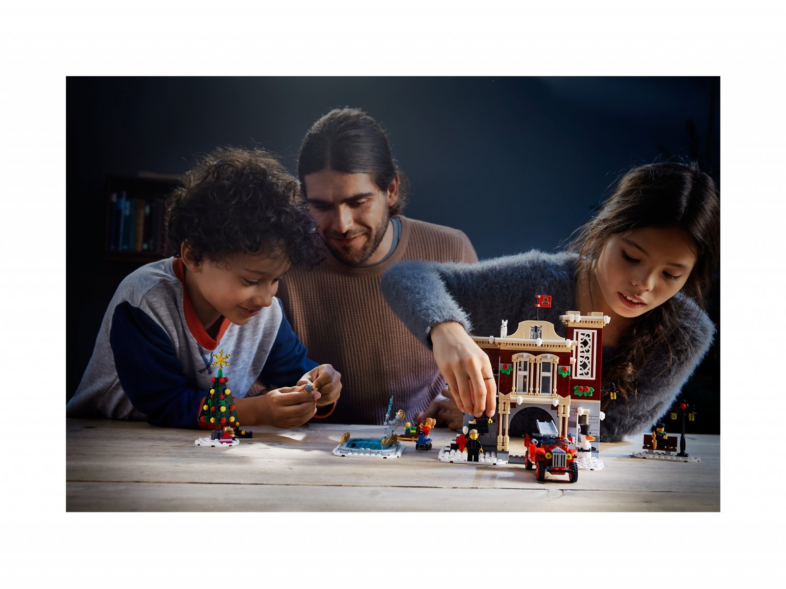 LEGO Creator Expert Remiza strażacka w zimowej wiosce 10263