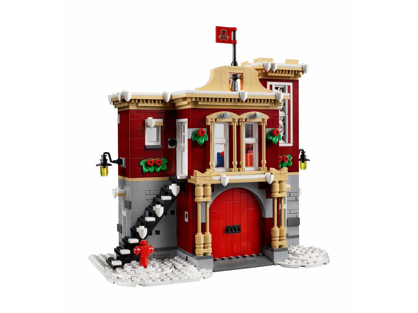 LEGO Creator Expert 10263 Remiza strażacka w zimowej wiosce