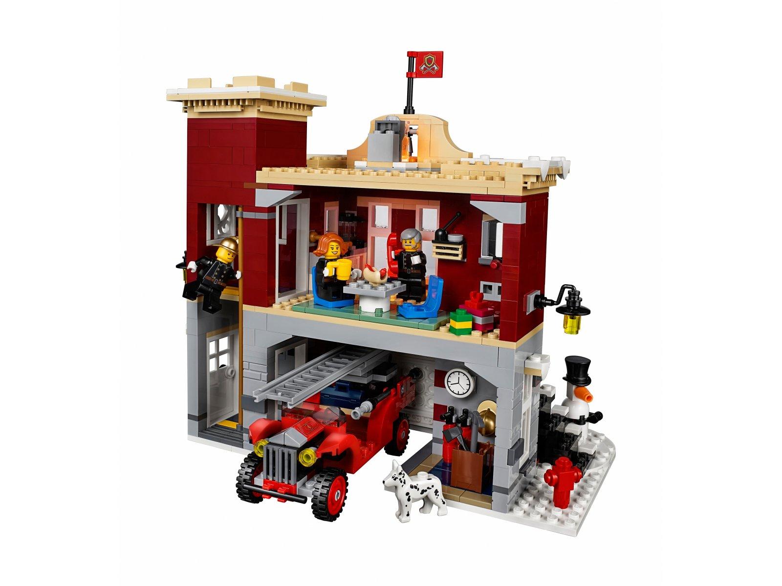 LEGO 10263 Creator Expert Remiza strażacka w zimowej wiosce