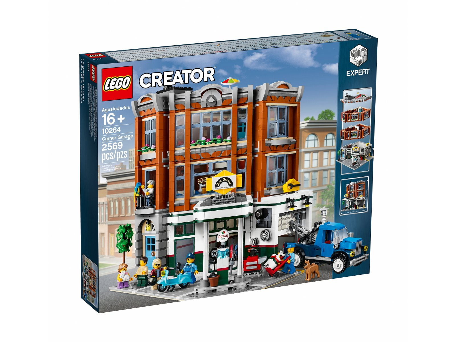 LEGO 10264 Warsztat na rogu