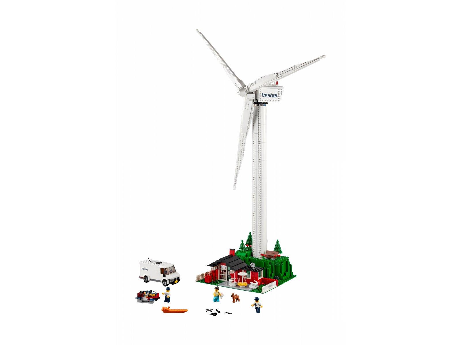LEGO Creator Expert Turbina wiatrowa Vestas