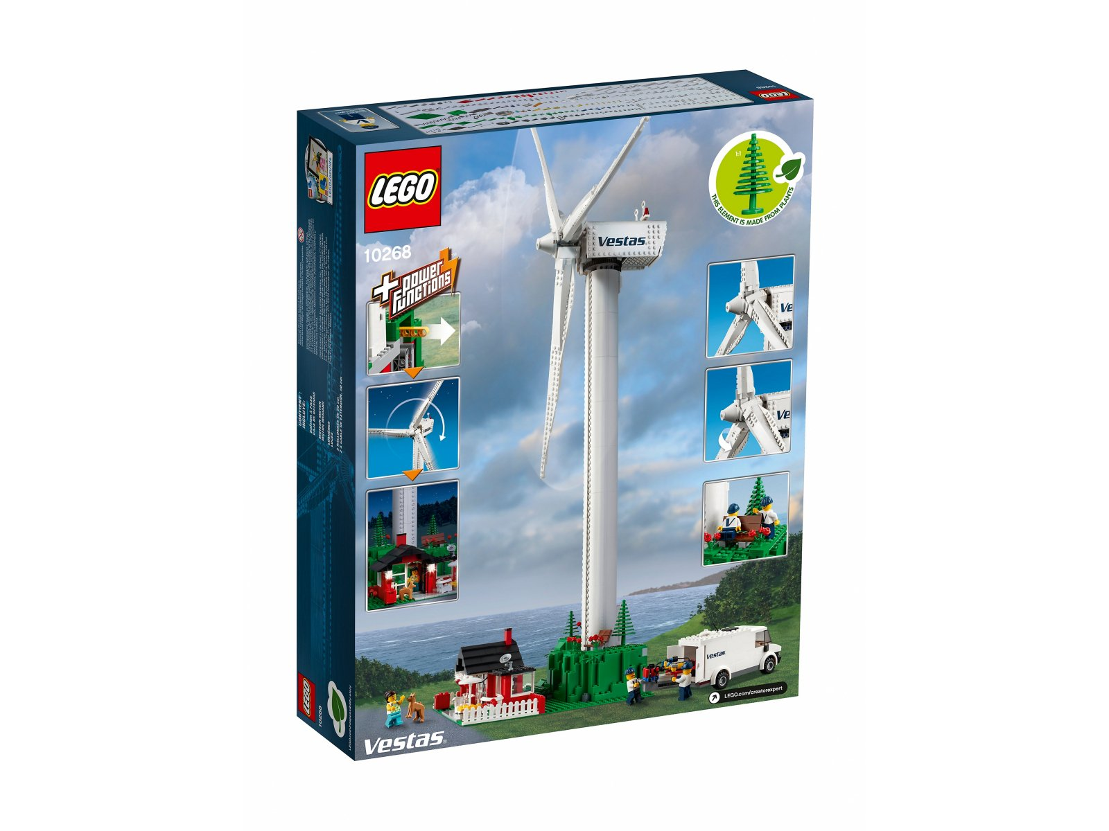 LEGO 10268 Creator Expert Turbina wiatrowa Vestas