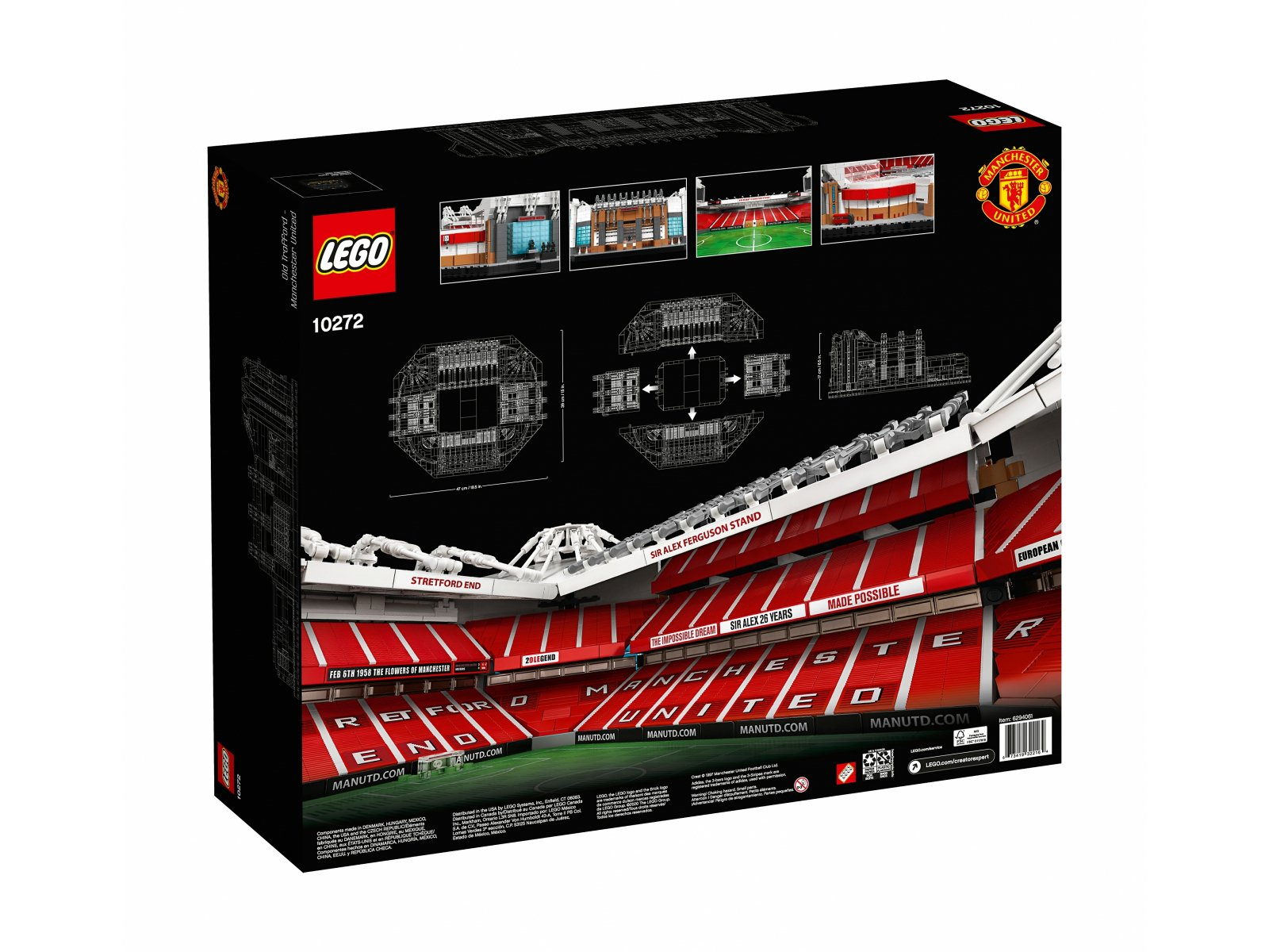 LEGO 10272 Creator Expert Old Trafford - Manchester United