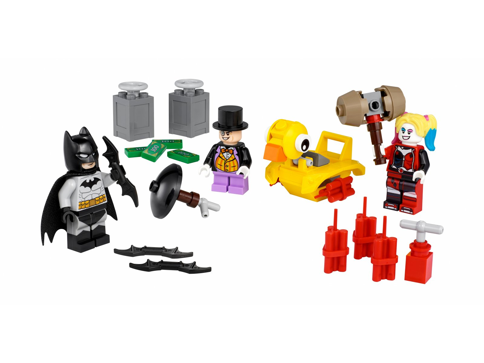 LEGO DC 40453 Batman™ kontra Pingwin i Harley Quinn