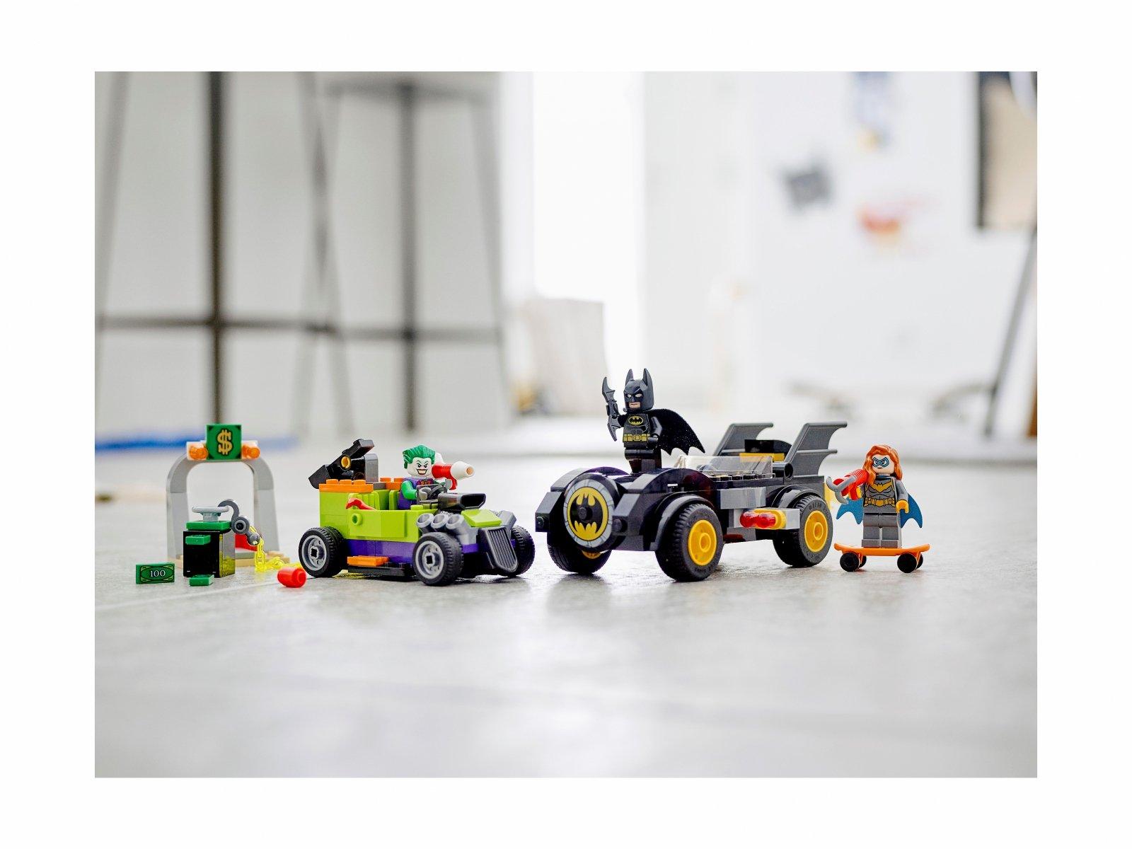 LEGO DC 76180 Batman™ kontra Joker™: pościg Batmobilem™