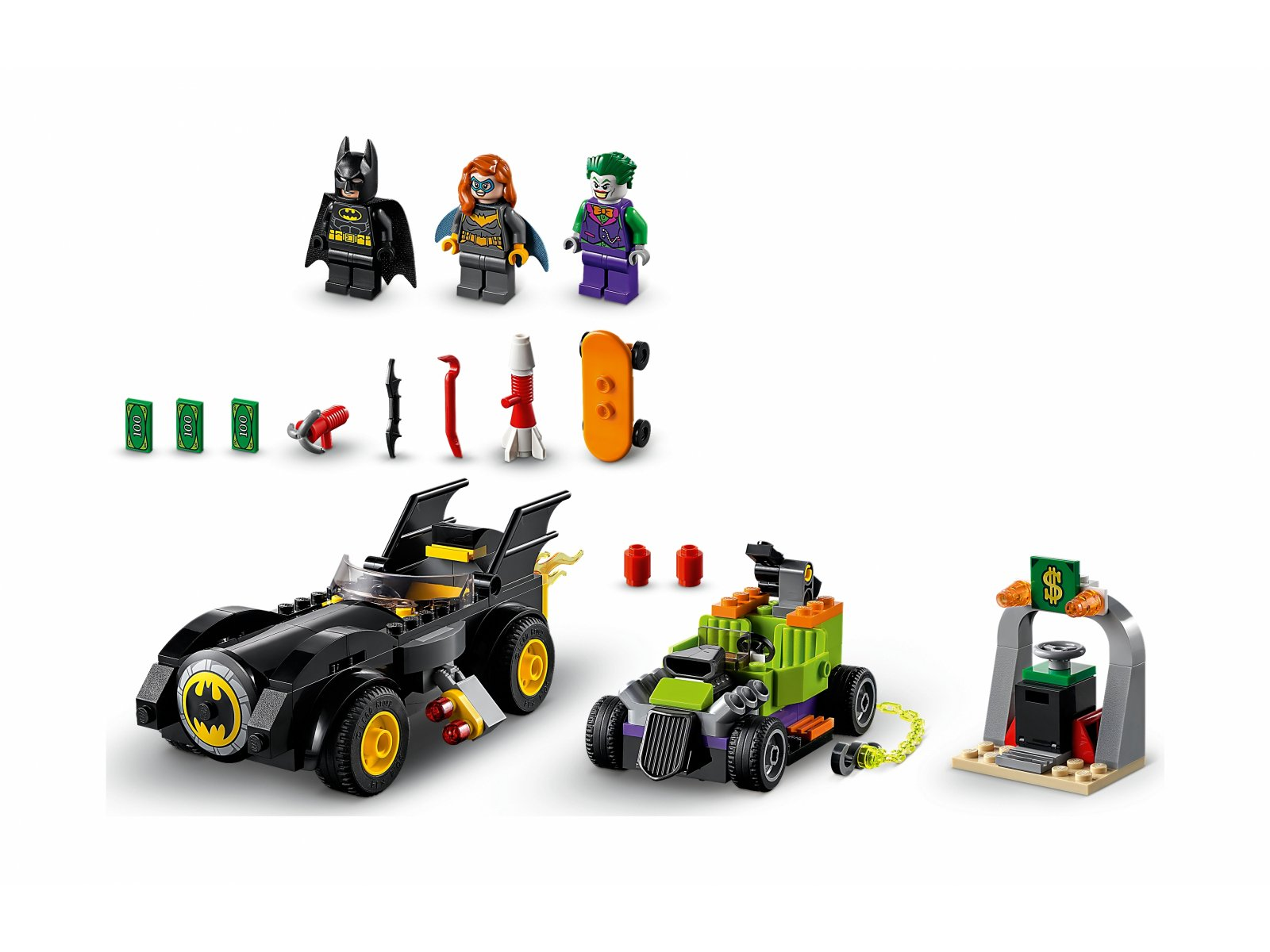 LEGO 76180 DC Batman™ kontra Joker™: pościg Batmobilem™