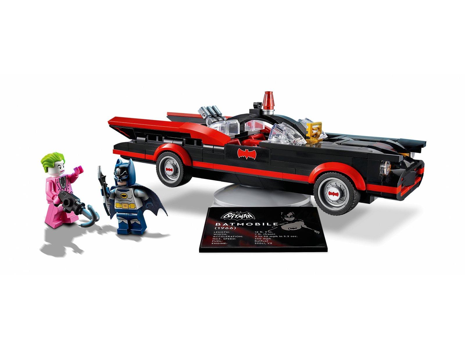 LEGO 76188 Klasyczny serial telewizyjny Batman™ — Batmobil™