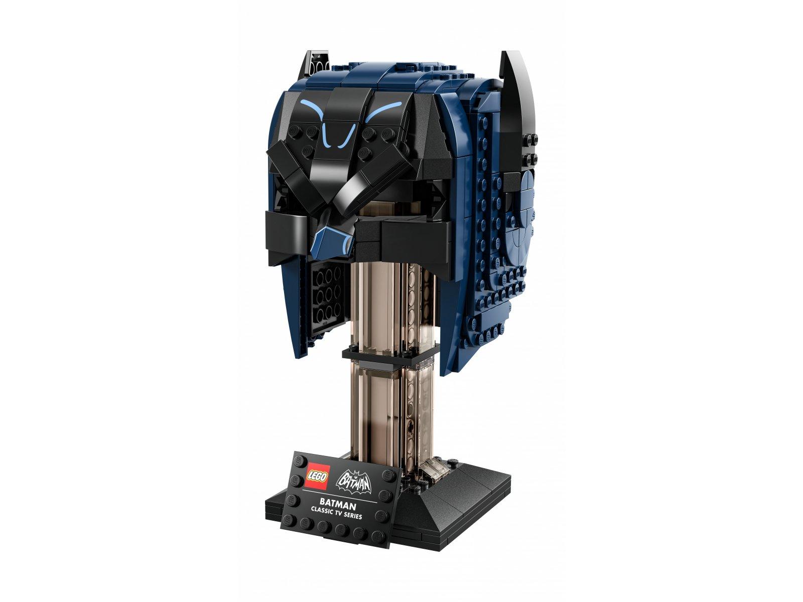 LEGO 76238 Maska Batmana™ z klasycznego serialu telewizyjnego