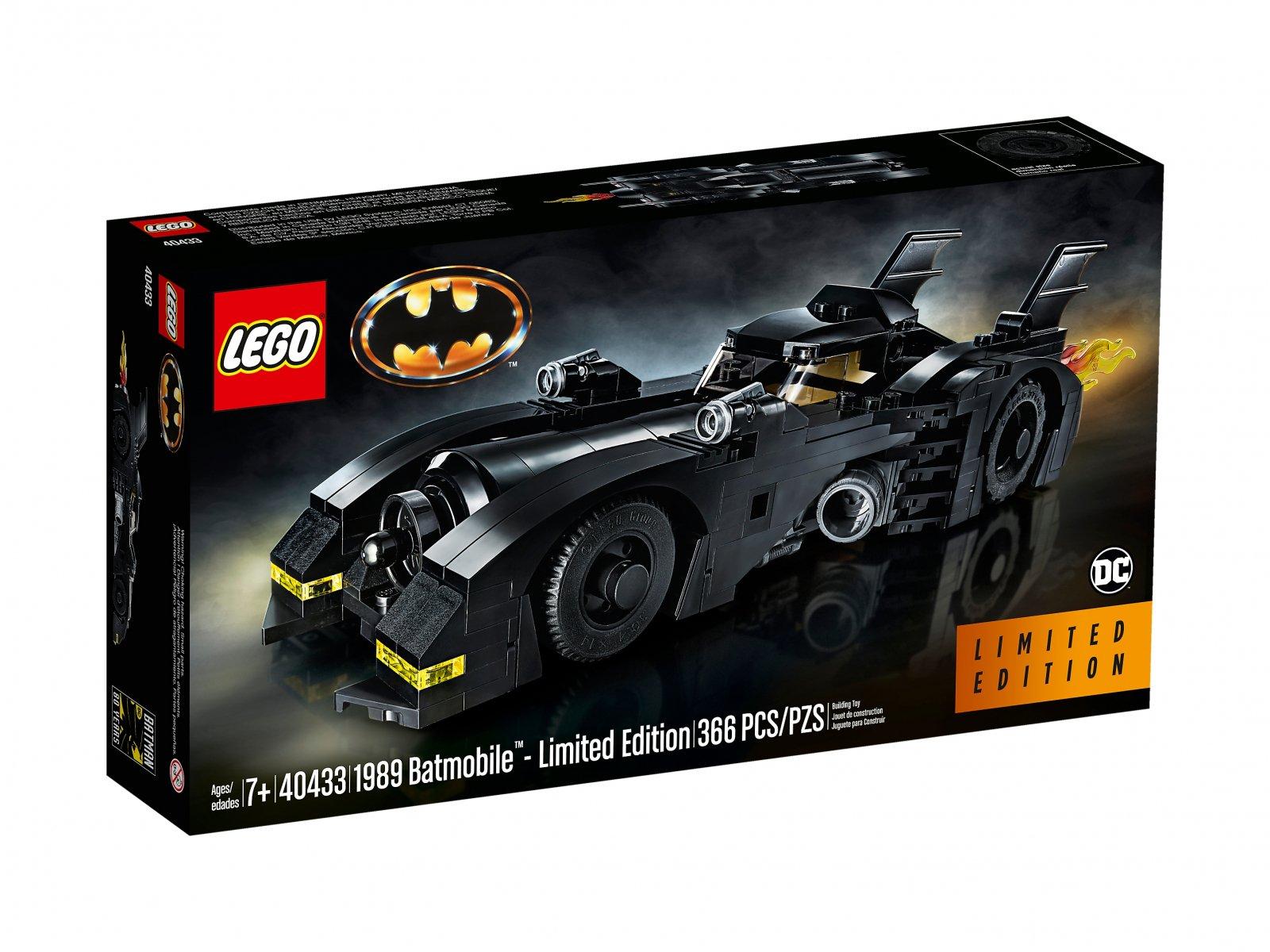 LEGO DC Comics™ Super Heroes 40433 1989 Batmobile™ - edycja limitowana