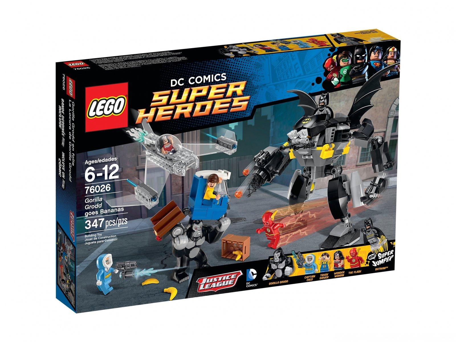 LEGO DC Comics™ Super Heroes 76026 Głodny Grodd