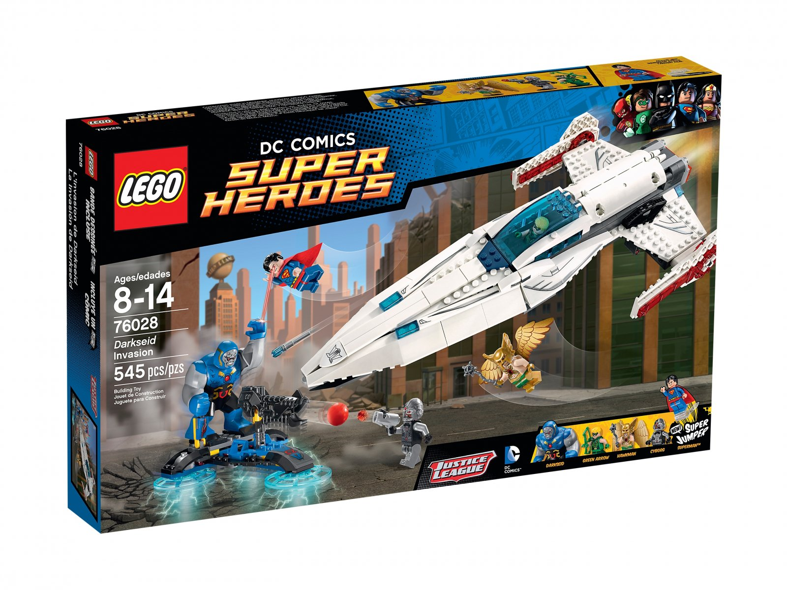 LEGO DC Comics™ Super Heroes 76028 Inwazja Darkseida