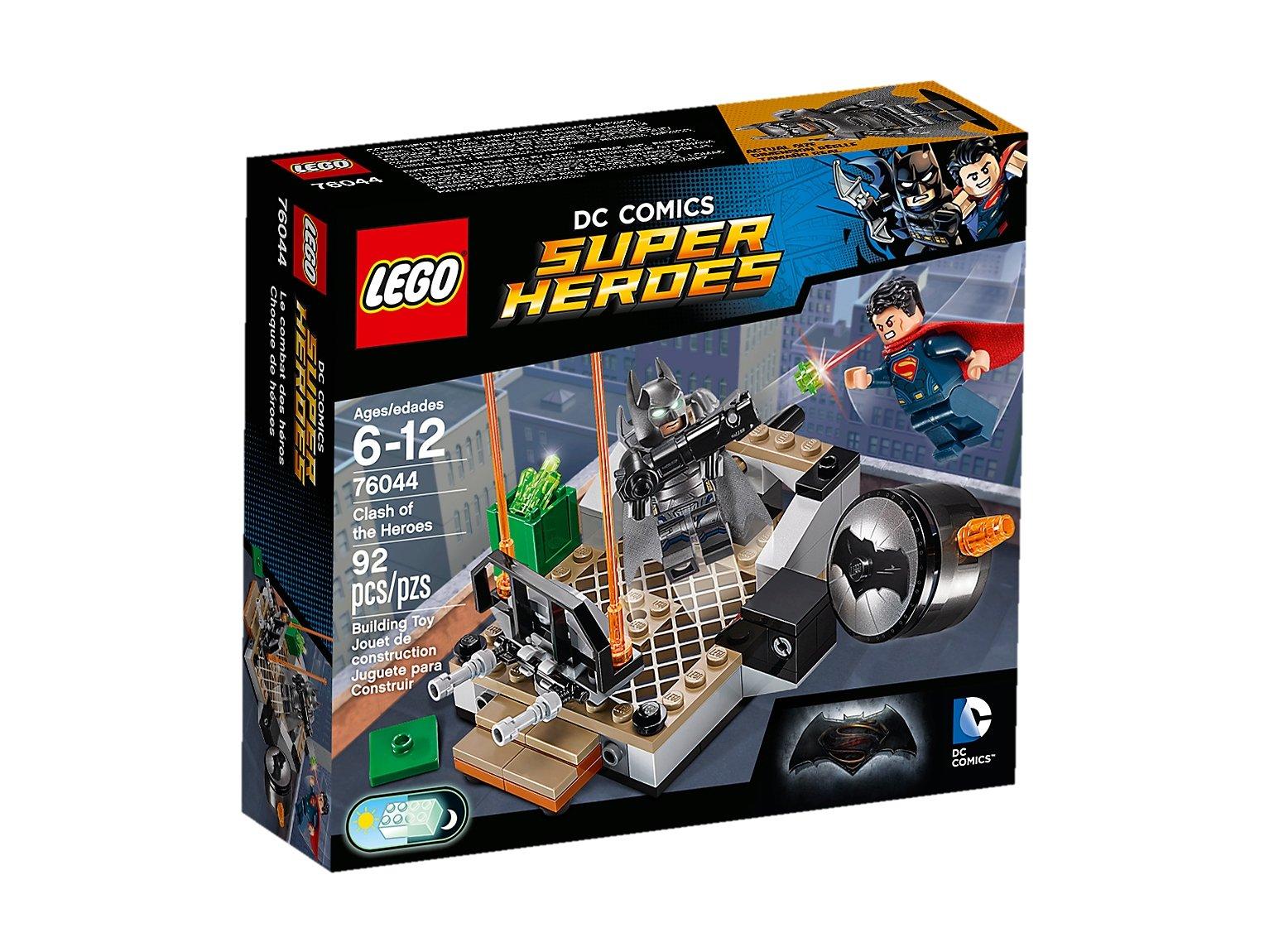 LEGO DC Comics™ Super Heroes Wyzwanie bohaterów 76044