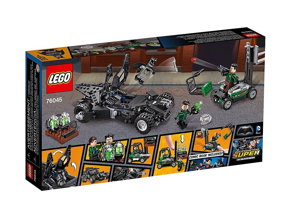 LEGO DC Comics™ Super Heroes Przechwycenie kryptonitu 76045