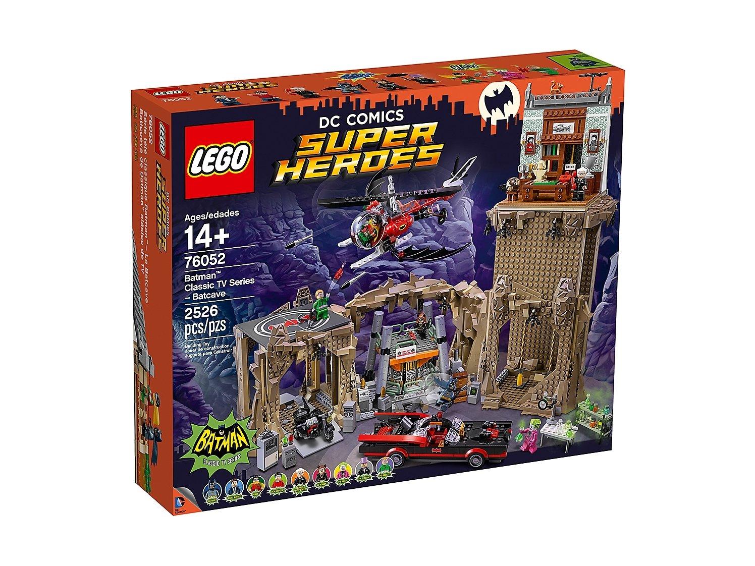 LEGO 76052 DC Comics™ Super Heroes Jaskinia Batmana