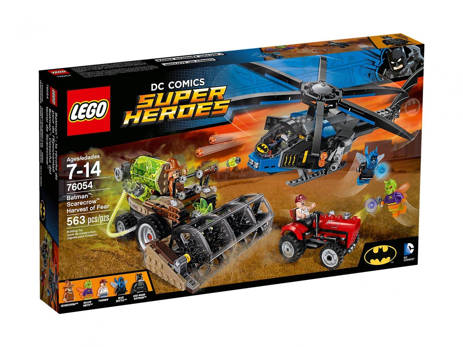 LEGO 76054 DC Comics™ Super Heroes Batman™: Strach na wróble™