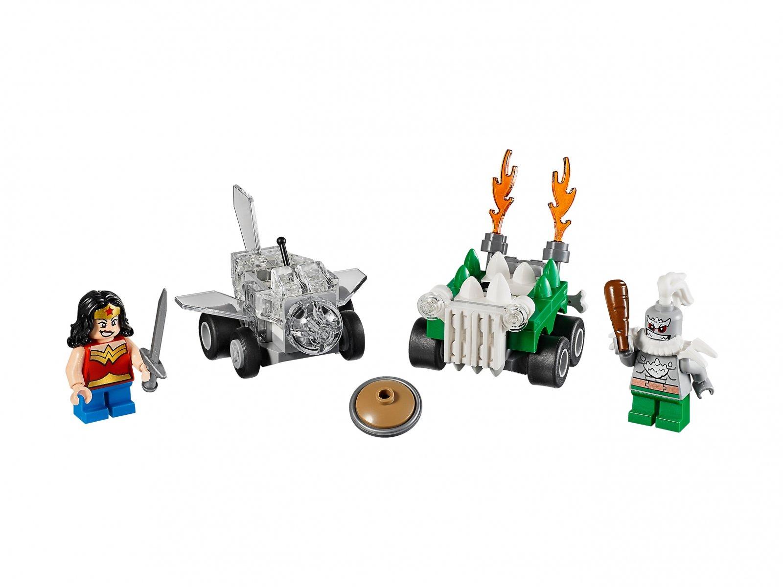 LEGO DC Comics™ Super Heroes 76070 Wonder Woman™ kontra Doomsday™