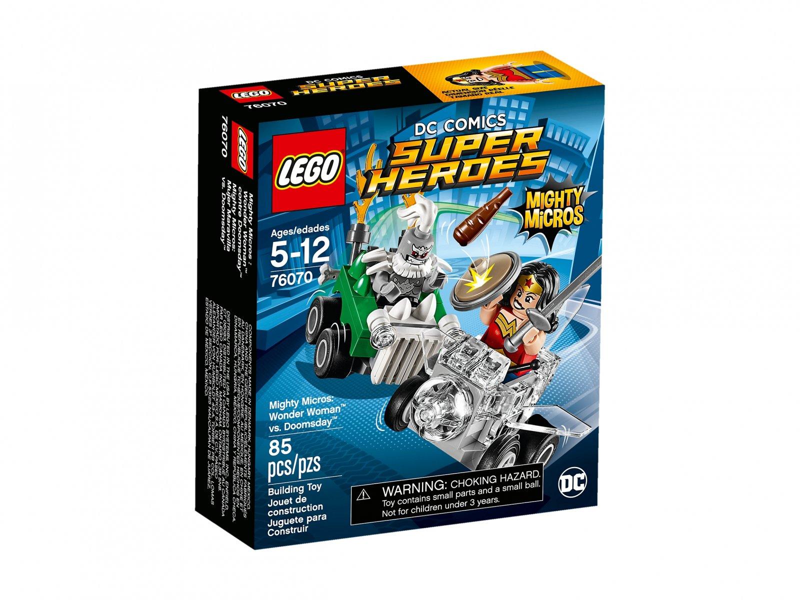LEGO DC Comics™ Super Heroes Wonder Woman™ kontra Doomsday™