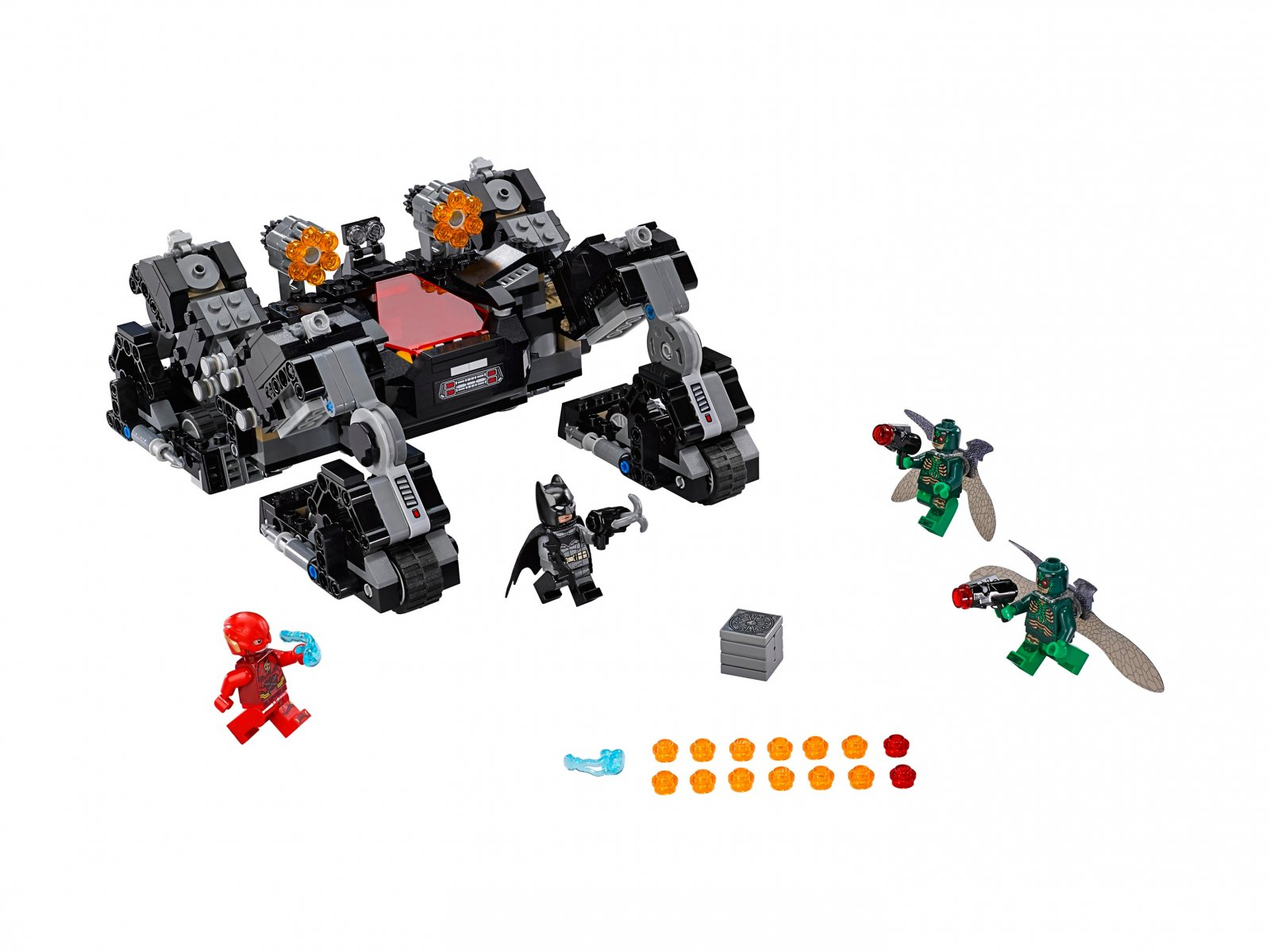 LEGO DC Comics™ Super Heroes Atak Knightcrawlera w tunelu