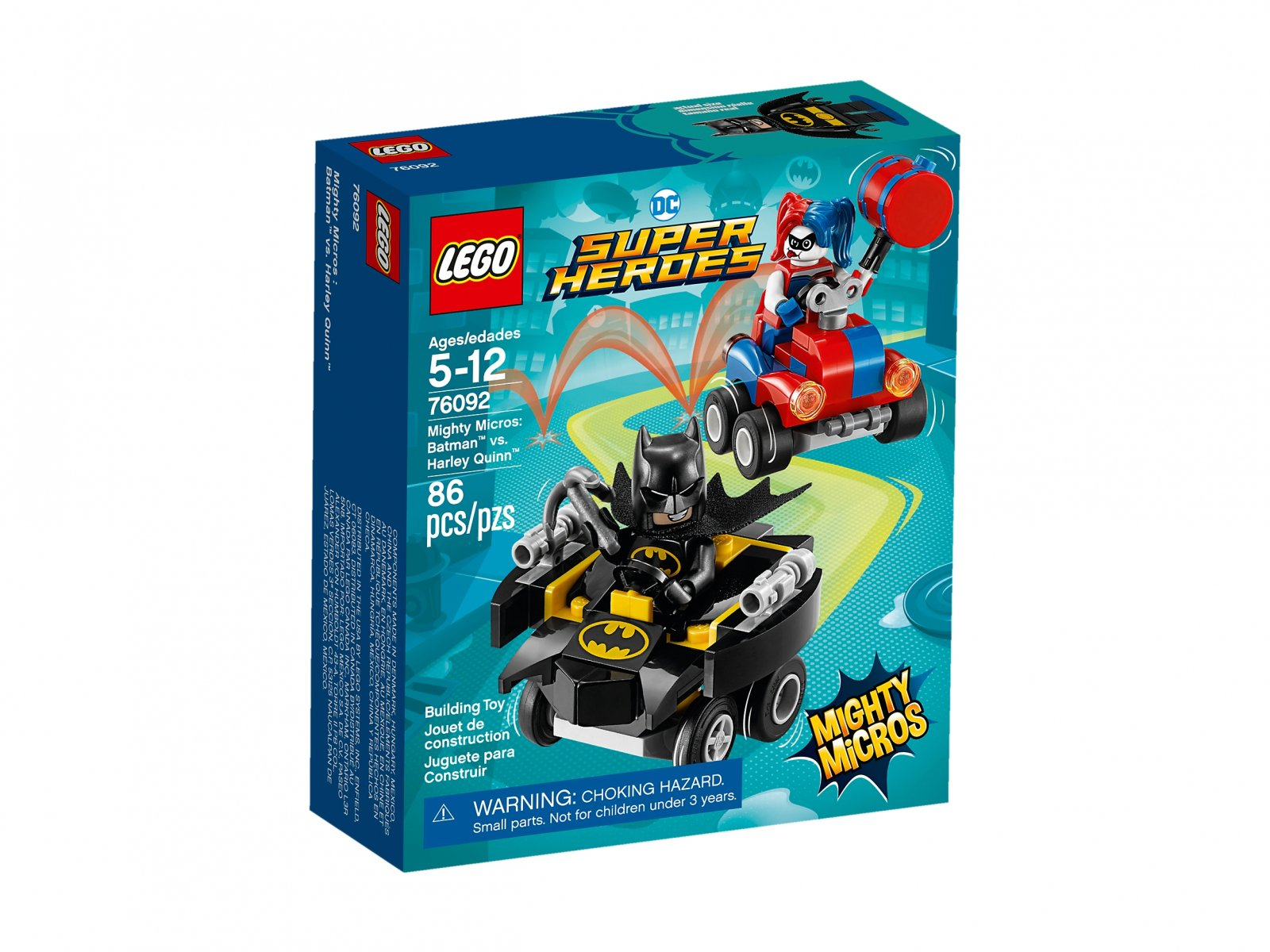 LEGO DC Comics™ Super Heroes 76092 Batman™ vs. Harley Quinn™