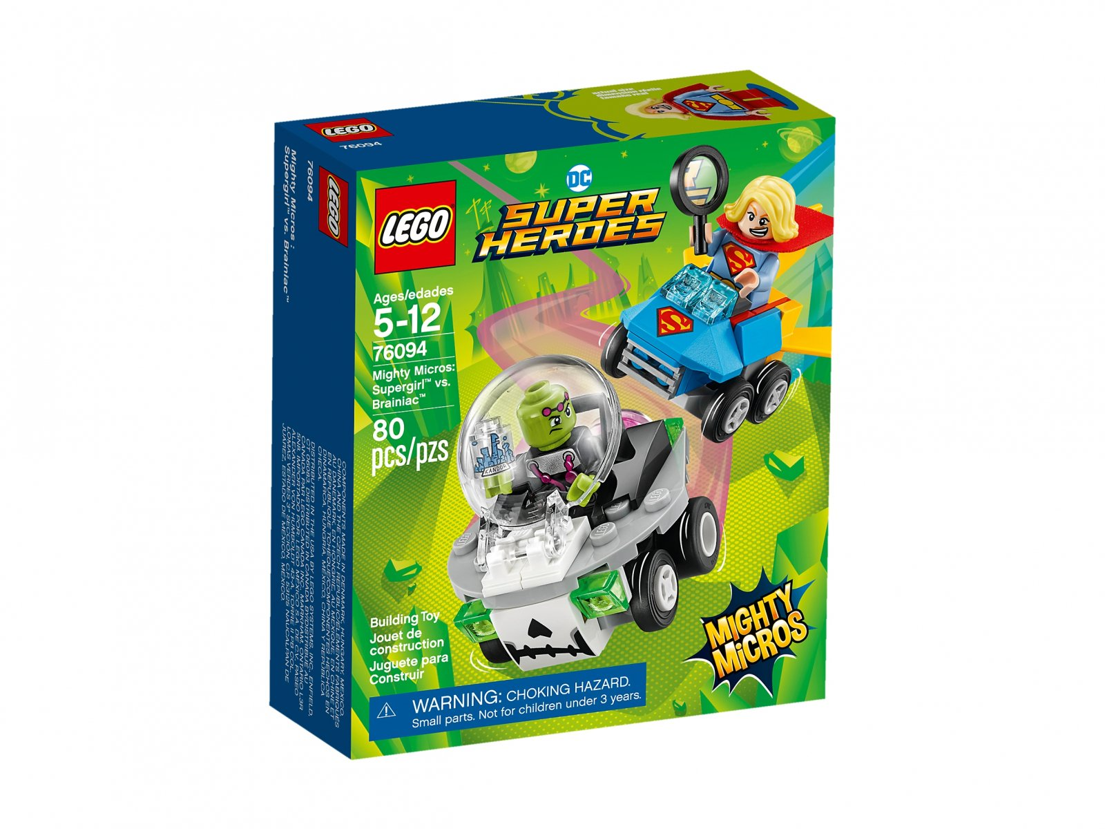 LEGO 76094 Supergirl™ vs. Brainiac™