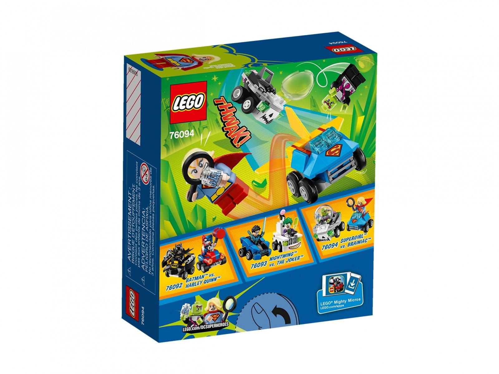 LEGO 76094 Supergirl™ vs. Brainiac™