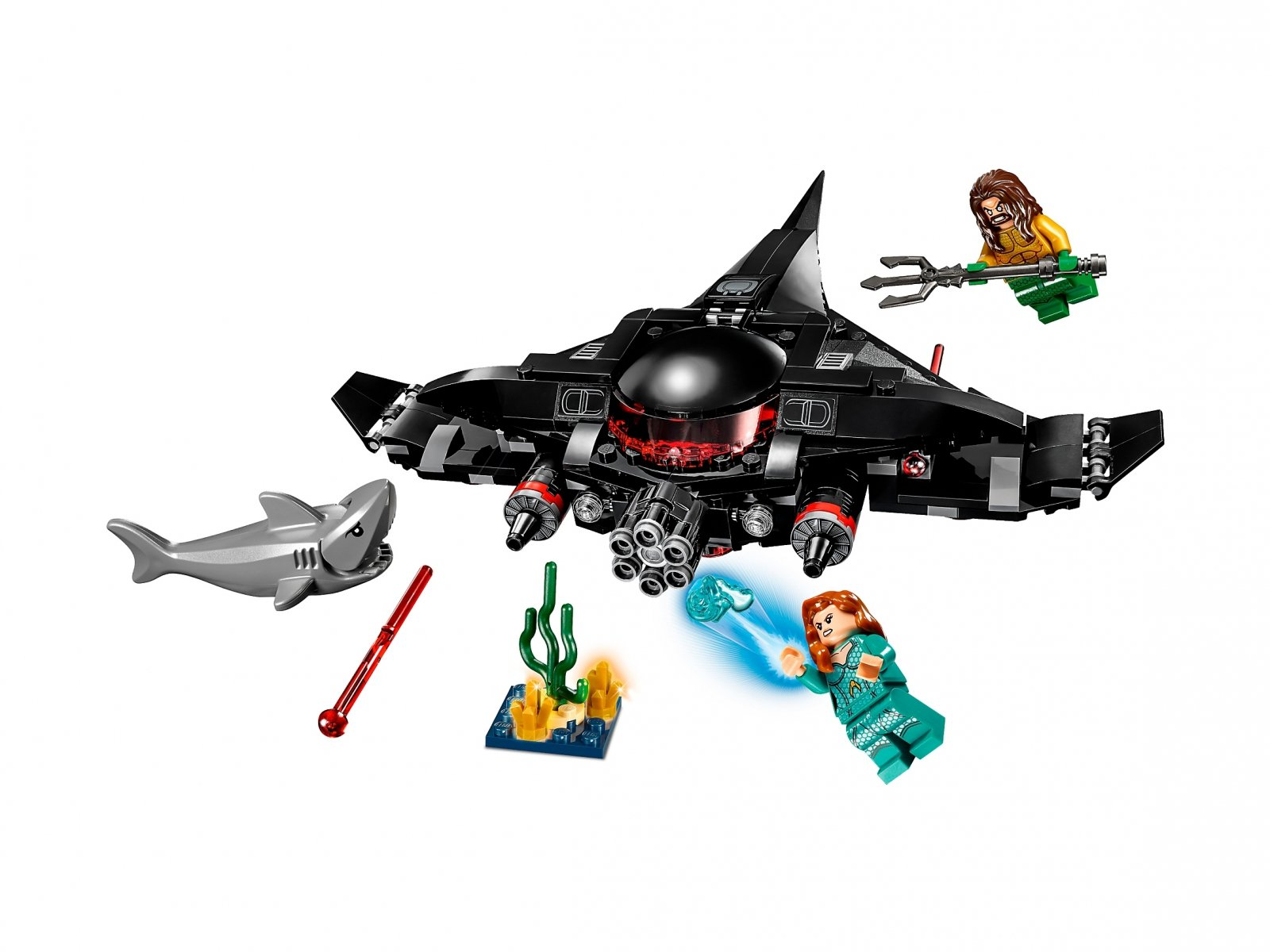 LEGO DC Comics™ Super Heroes Aquaman™: Atak Black Manty 76095