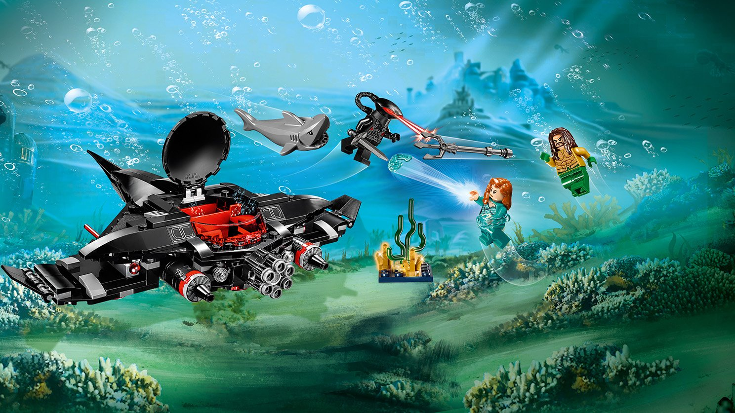 LEGO 76095 Aquaman™: Atak Black Manty