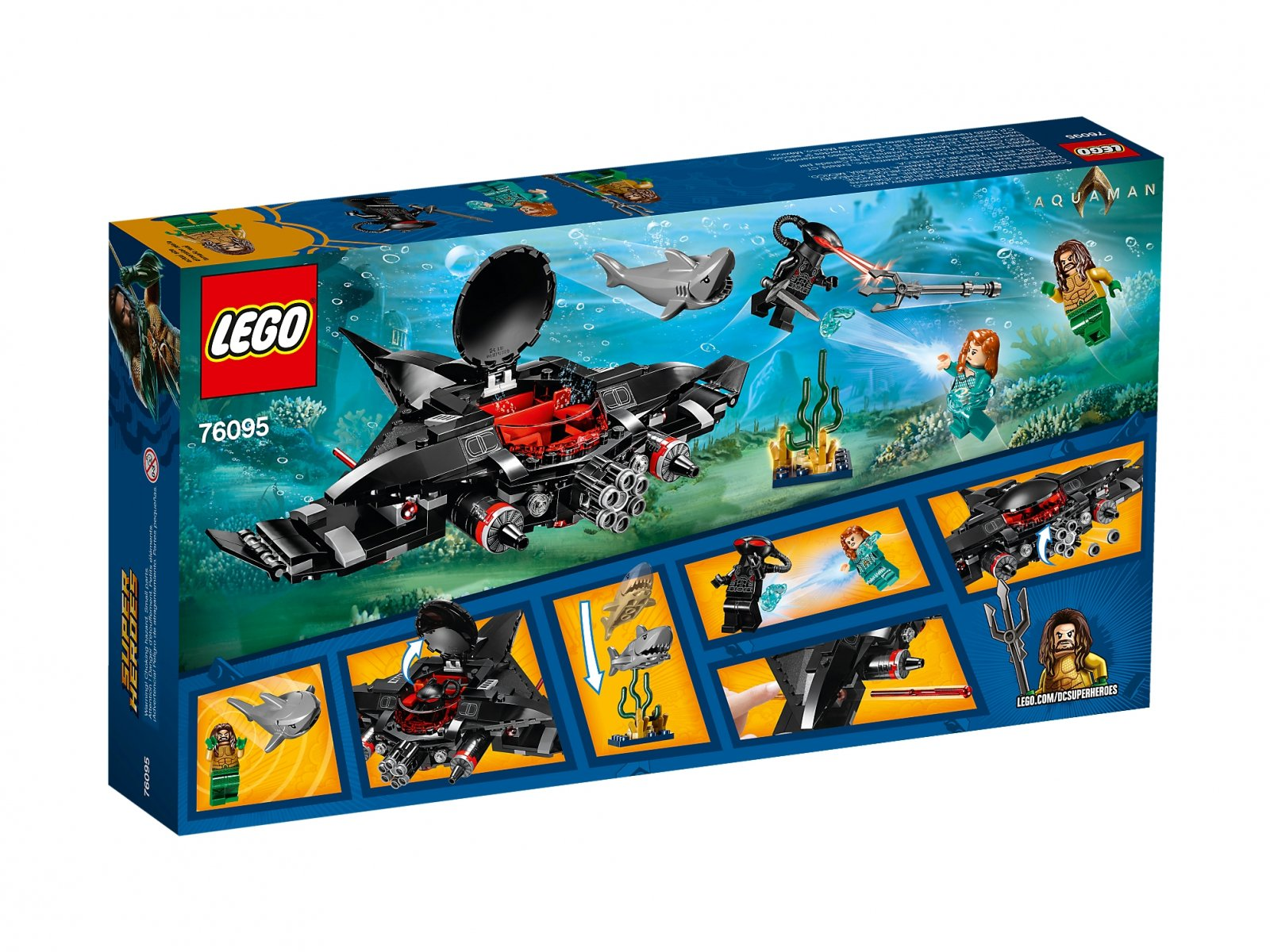 LEGO 76095 DC Comics™ Super Heroes Aquaman™: Atak Black Manty