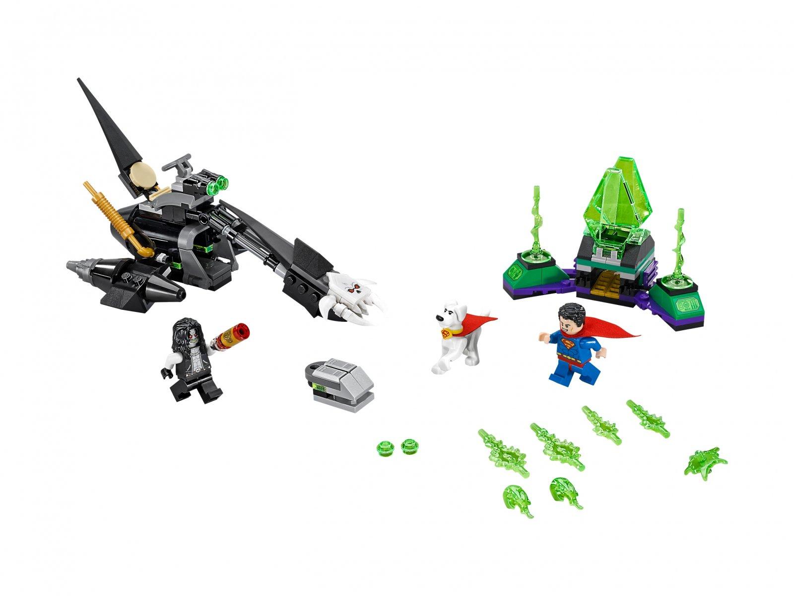 LEGO 76096 DC Comics™ Super Heroes Superman™ i Krypto™ łączą siły