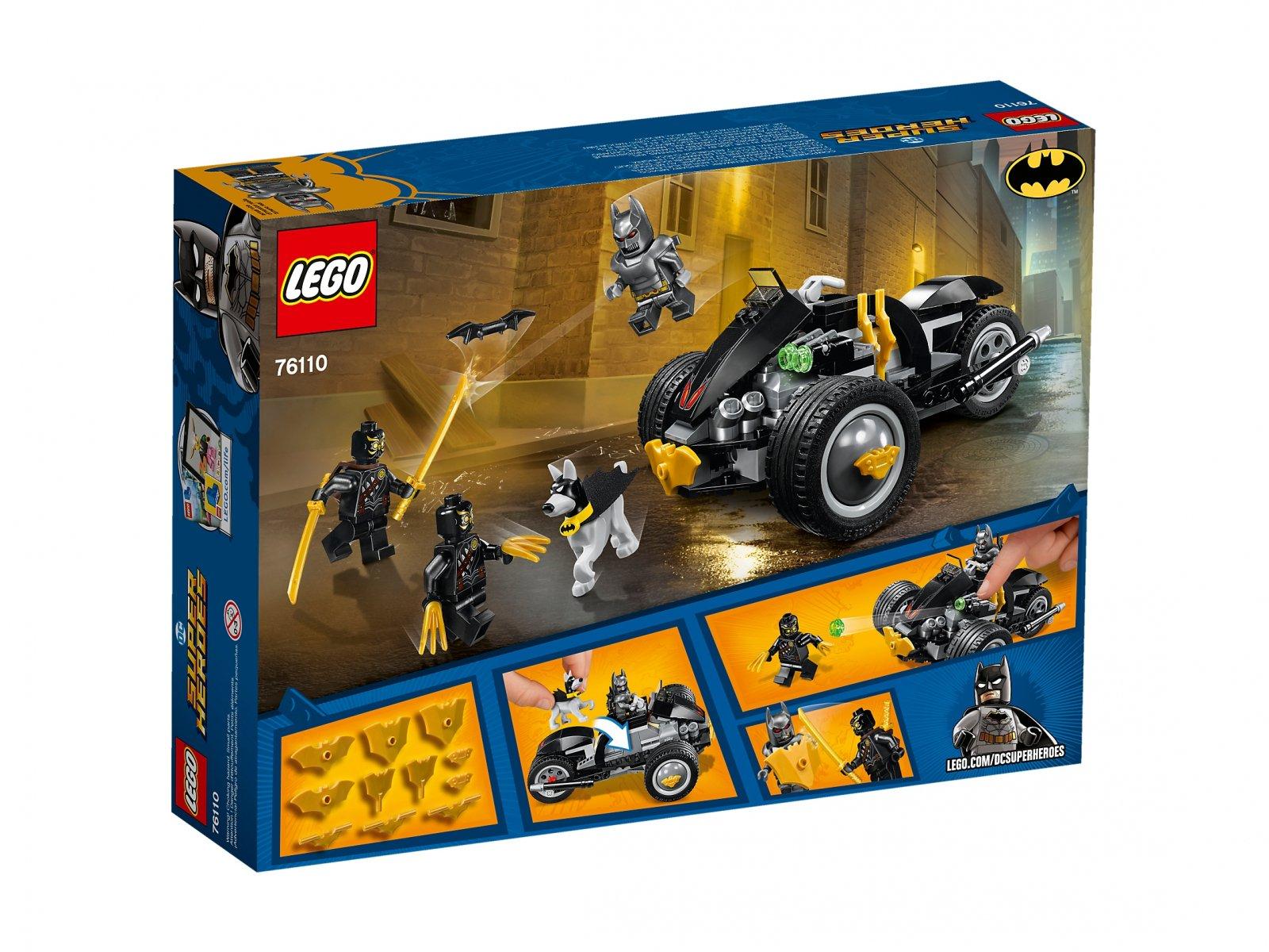 LEGO 76110 DC Comics™ Super Heroes Batman™: atak Szponów™